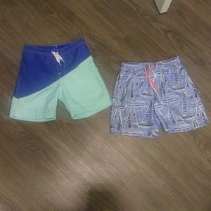 Lot of two swim shorts